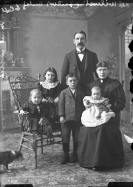 Photograph of Wilmot family
