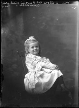 Photograph of the child of Mrs. Wallace McKenzie