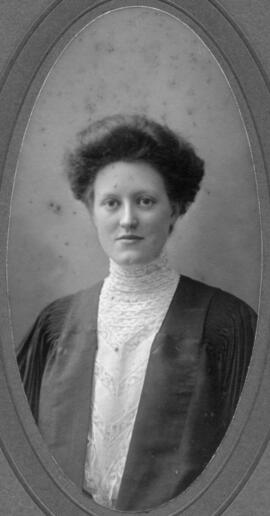 Photograph of Lena Mildred Sibley : Class of 1909