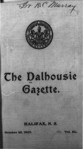 The Dalhousie Gazette, Volume 40, Issue 1