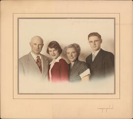 Photograph of Thomas Head Raddall and family