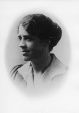 Photograph of an unidentified woman from the Dalhousie Law School