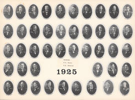Composite Photograph of the Faculty of Medicine - Class of 1925
