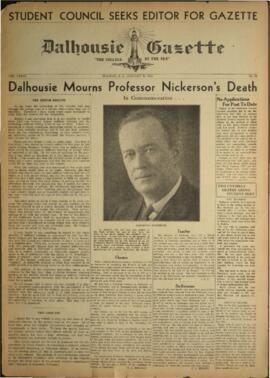 Dalhousie Gazette, Volume 73, Issue 10