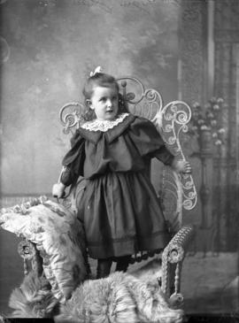Photograph of P. A. McGregor's daughter