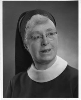 Photograph of Sister Marie Agnes