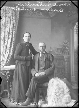 Photograph of Mr. and Mrs. John A. Sutherland