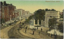 Postcard of Stephen's Green, Dublin