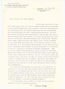 Correspondence between Elisabeth Mann Borgese and Helmut Goetz
