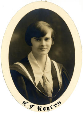 Portrait of Evelyn Frances Rogers : Class of 1927