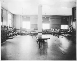 Photograph of a laboratory at the Nova Scotia Technical College