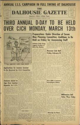 The Dalhousie Gazette, Volume 82, Issue 27