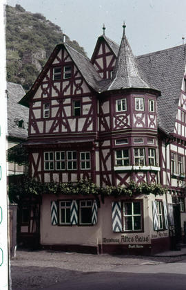 Photograph of the Altes Haus (Old House) in Bacharach