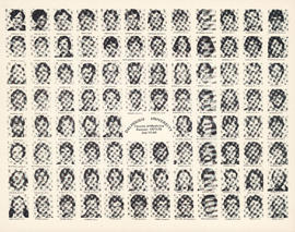 Composite photograph of the Faculty of Medicine - Second Year Class, 1977-1978