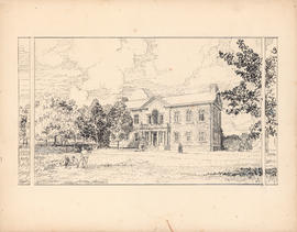 The Macdonald Memorial Library. Erected at Studley, 1914 : [drawing]