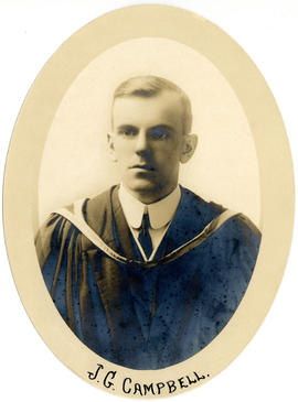 Portrait of John George Duncan Campbell : Class of 1916