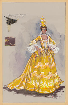 Costume design for Julia, Lady Fulbank