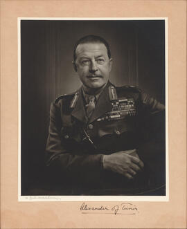 Photograph of Sir Harold Rupert Leofric George Alexander