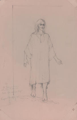 Costume design for one woman