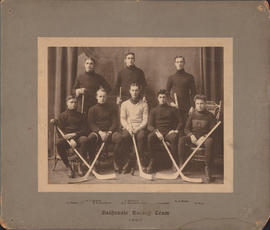 Photograph of Dalhousie Hockey Team - 1907