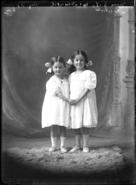 Photographs of the children of the children of Mrs. J. L. McDonald