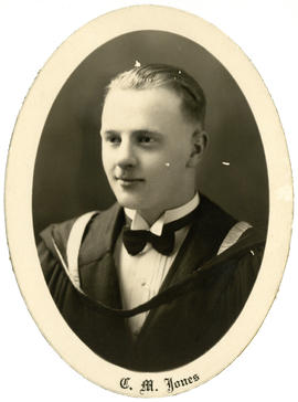 Portrait of Charles MacLean Jones : Class of 1930