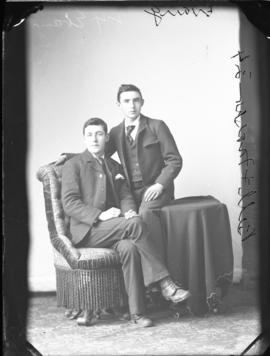 Photograph of Messrs  Bell and Fraser