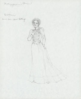 Costume design for Beatrice