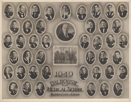 Photograph of Faculty of Medicine - Graduation Class 1949
