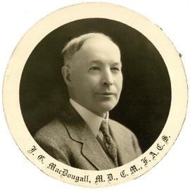 Portrait of John George MacDougall