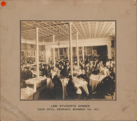 Photograph of Law Students Dinner, Queen Hotel