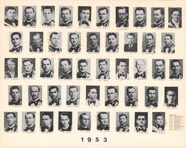 Composite Photograph of the Faculty of Medicine - Class of 1953