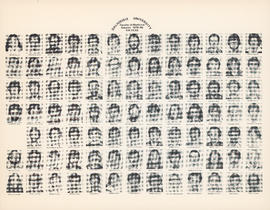 Composite photograph of the Faculty of Medicine - Fourth Year Class, 1979-1980