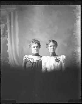Photograph of Jessie West & her sister