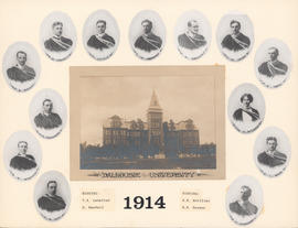 Composite Photograph of the Faculty of Medicine - Class of 1914