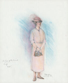 Costume design for Meg : Act I