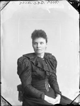Photograph of Mrs. Bevans