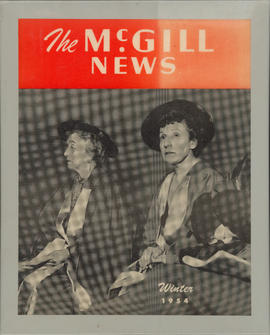 The McGill News : Ellen Ballon and Pauline Donalda receiving honorary doctorates from McGill Univ...