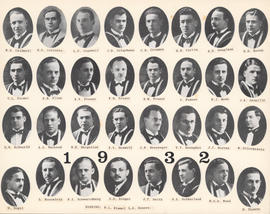 Composite Photograph of the Faculty of Medicine - Class of 1932