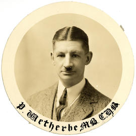 Portrait of Philip W. Weatherbe