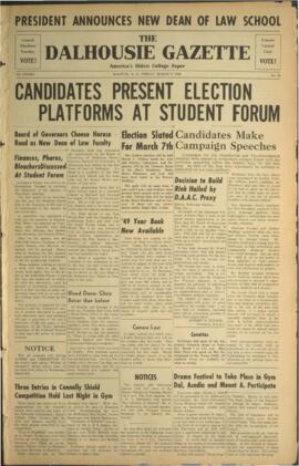 The Dalhousie Gazette, Volume 82, Issue 34