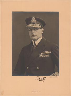 Photograph of David Beatty, 1st Earl Beatty