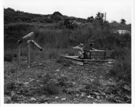 Photograph of an empty lot on the former location of Africville