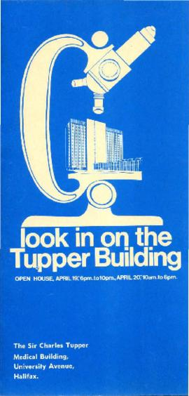Look in on the Tupper Building : [brochure]
