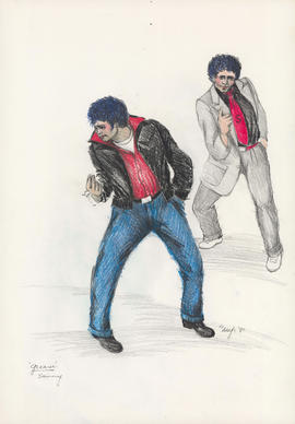 Costume design for Sonny