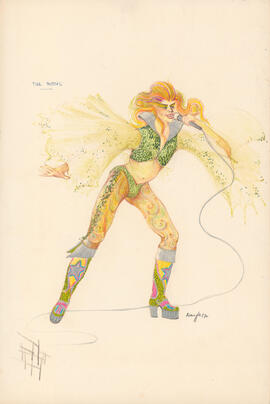 Costume design for The Moths