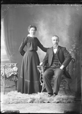 Photograph of Mr. & Mrs. Evan McPherson