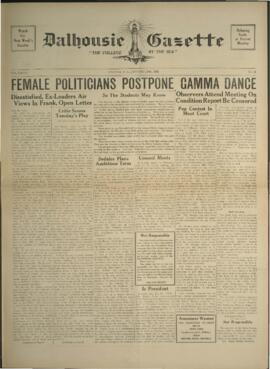Dalhousie Gazette, Volume 70, Issue 14