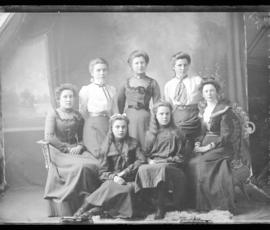 Photograph of Wooden women & girls