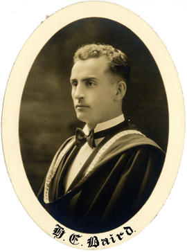 Portrait of Harold Emerton Baird : Class of 1927